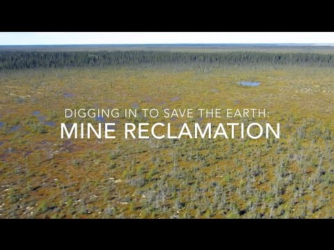 Digging in to Save the Earth – Mine Reclamation