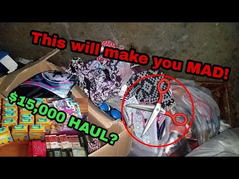 $15,000 FIVE BELOW DUMPSTER DIVING HAUL? We are ANGRY!!