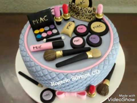 Makeup Birthday Cakes Pictures