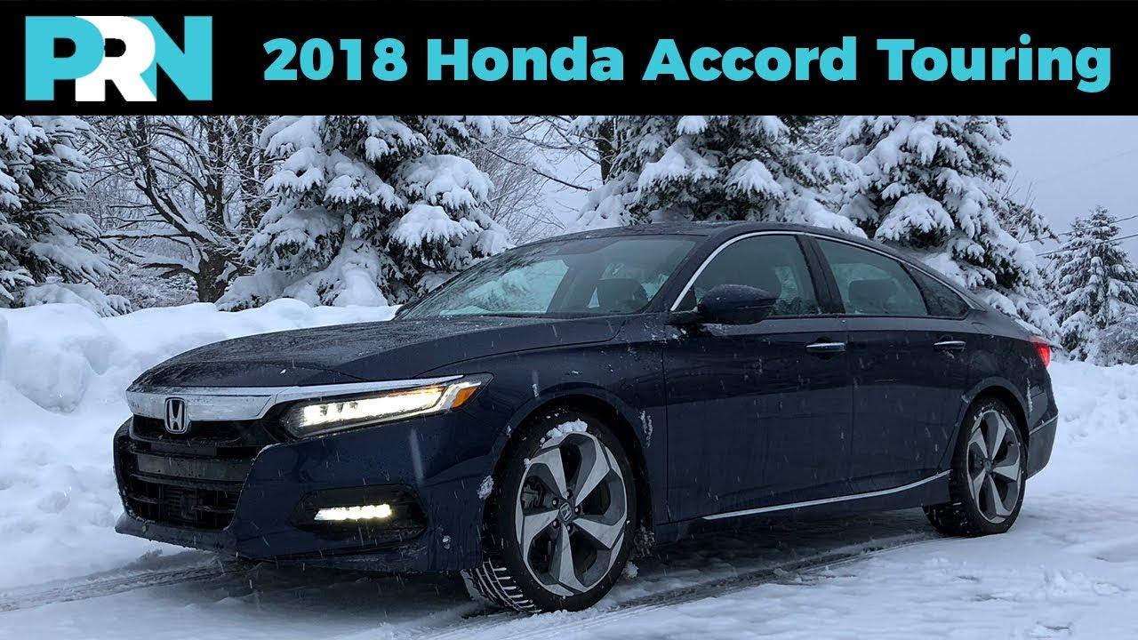 35 Years Of Us Accords 2018 Honda Accord 1 5L Touring Testdrive Spotlight