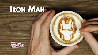 Marvel Latte Art | Marvel Super Hero Spectacular