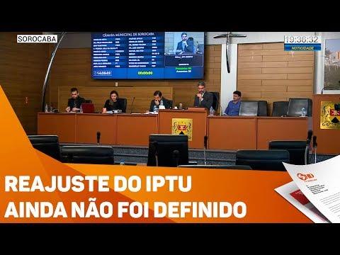 Reajuste do IPTU ainda não foi definido - TV SOROCABA/SBT