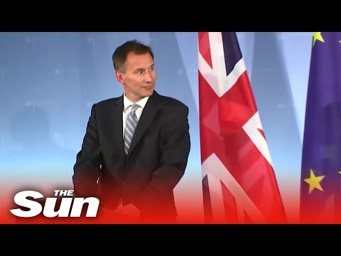 Jeremy Hunt on his Germany 'friendship visit'