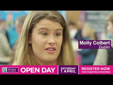 NUI Galway's Open Day - April 1st 2017