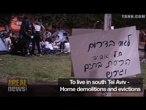 Poorest tent city evicted in Israel
