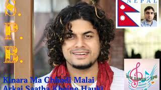 Kinara Ma Chhodi Malai .... Song by Pramod Kharel ---- SPB