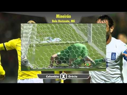 Colombia vs Greece 3-0 All goals and Full Highlights WORLD CUP 2014 Brazil