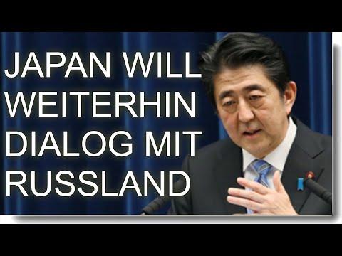 Japan will auch weiterhin den Dialog mit Russland