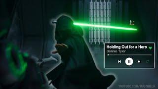 Luke Hallway Scene Synced to I Need a Hero (Music Edit)