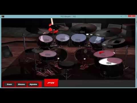Juegos de tocar la batera virtual Virtual Drumming