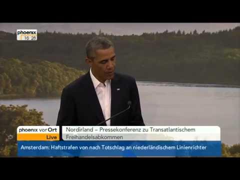 Video: Pressekonferenz Auftakt G8 Gipfel am 17.6.2013 mit Obama, Barroso Cameron und van Rompuy