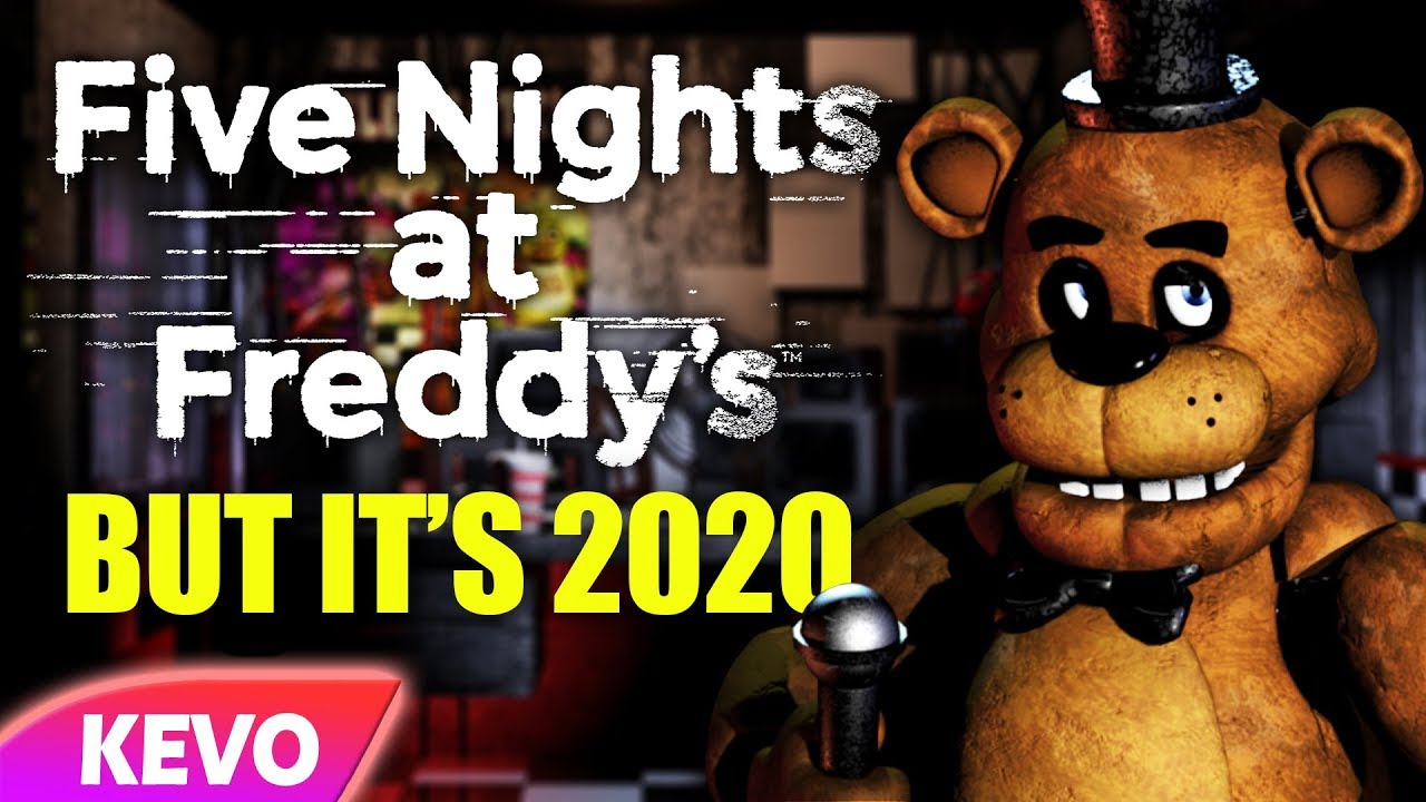 Five Nights At Freddy's but it's 2020 thumbnail