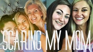 Travel Surprise // Scaring My Mom & Eastcoast Lifestyle Swag!