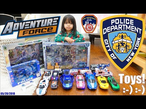 Police Toy Cars, Police Officers Action Figures, Ambulance Toy, Fire Truck Toy, RC Police Car