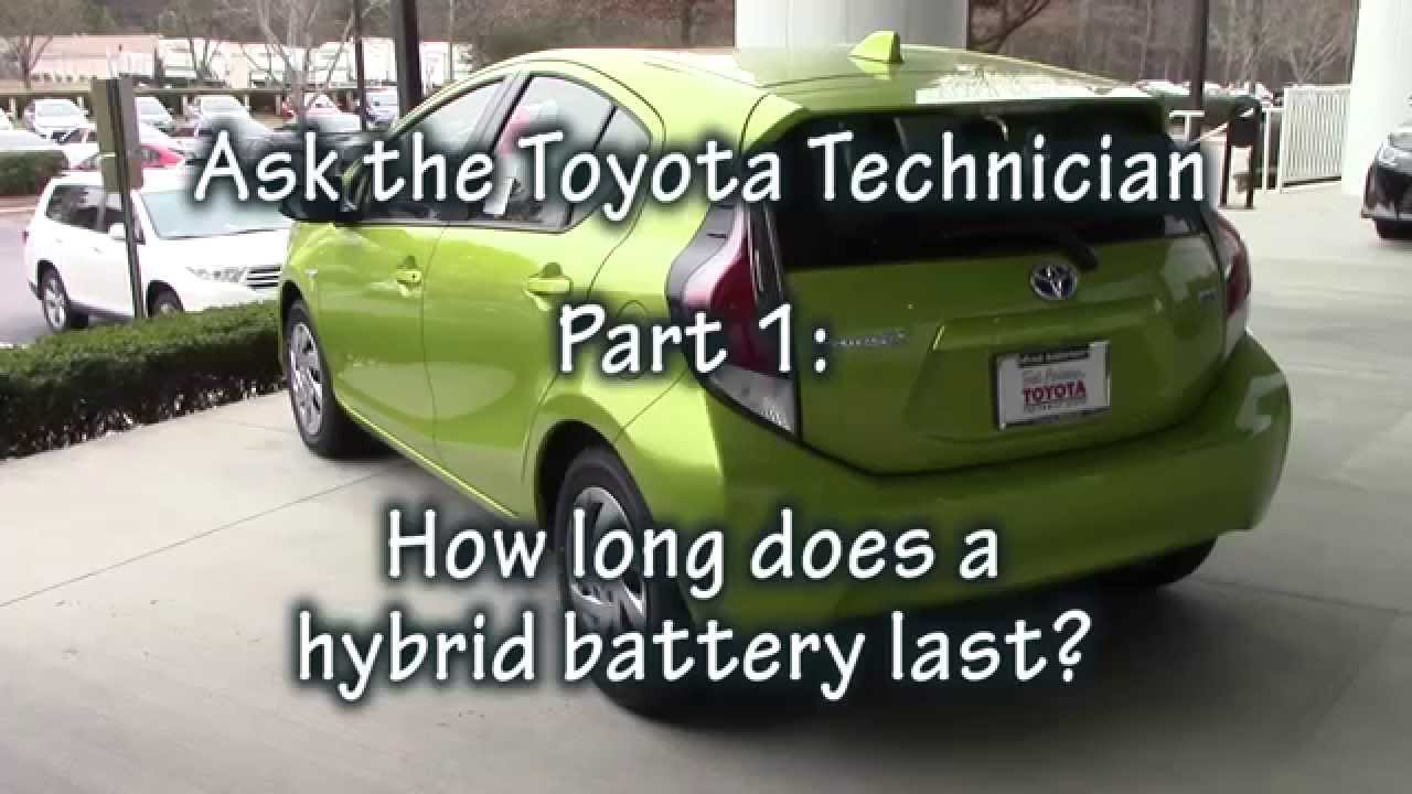 ask the toyota technician part 1 how long does a prius hybrid battery last youtube. Black Bedroom Furniture Sets. Home Design Ideas