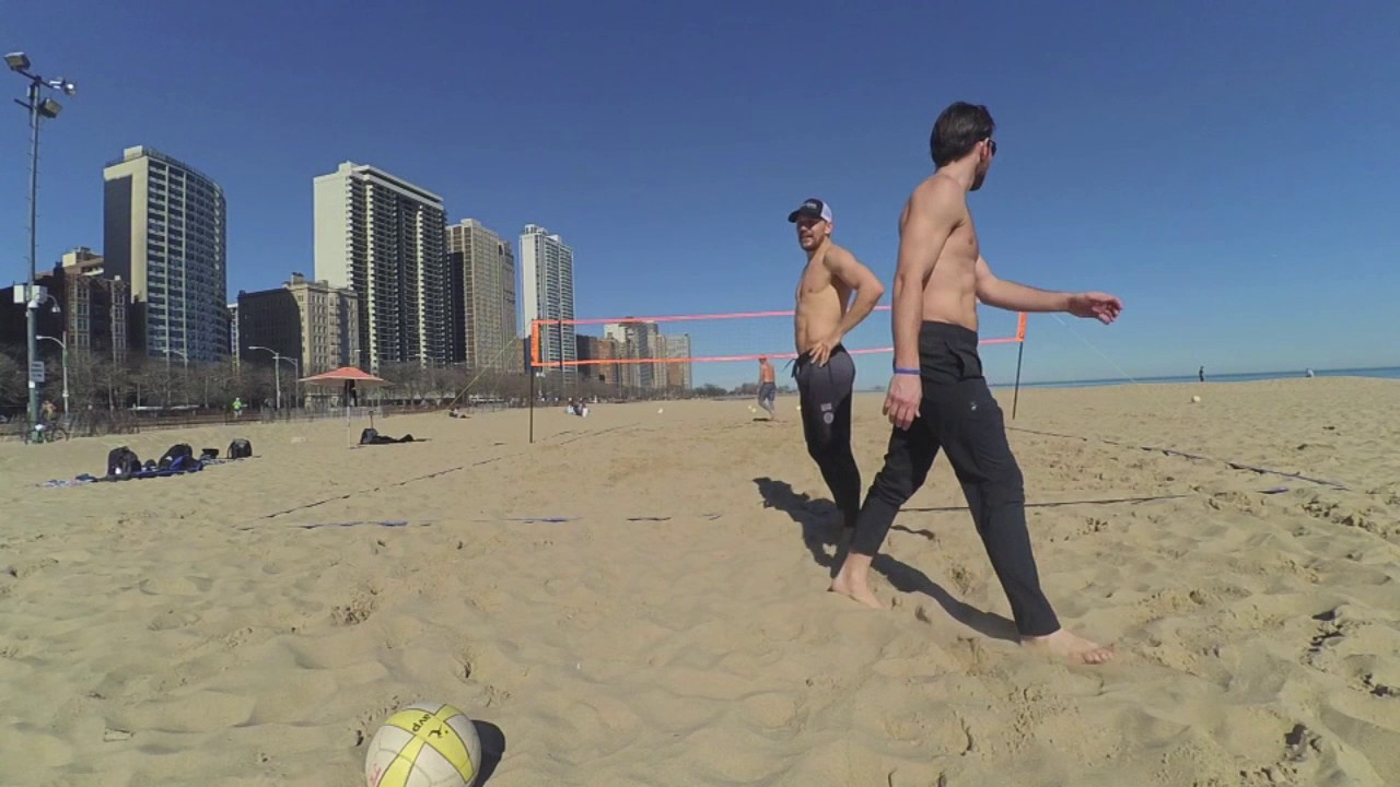 Chicago Beach Volleyball February 18 2017