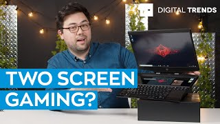 Unboxing An Insane Gaming Laptop With Two Screens! | HP Omen X 2S