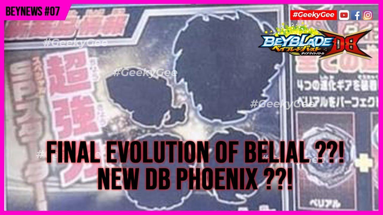PHOENIX RETURNING IN DYNAMITE BATTLE SERIES? B191 DB Triple Starter Set LEAKS!   ベイブレードバースト