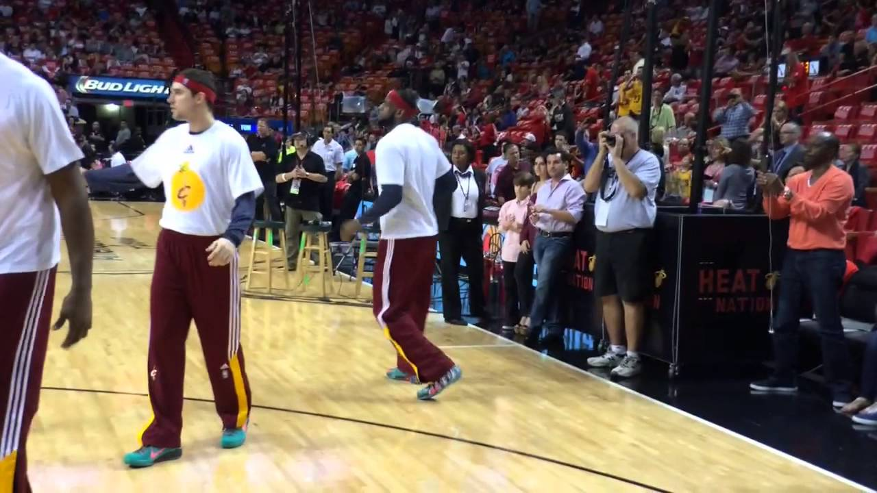 premium selection 75c4c 4972b Heat fans react to LeBron James  return to Miami - YouTube