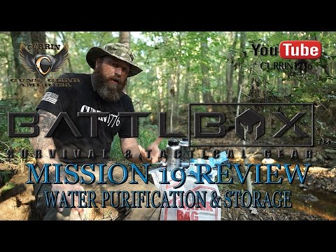 """BattlBox Review Mission 19 """"Water Purification and Storage"""""""