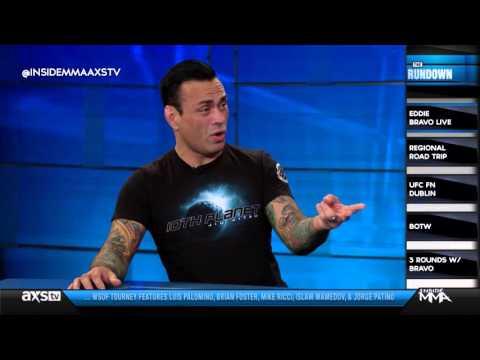 Eddie Bravo on Music in MMA, Nick Diaz, and His Next BJJ Tournament