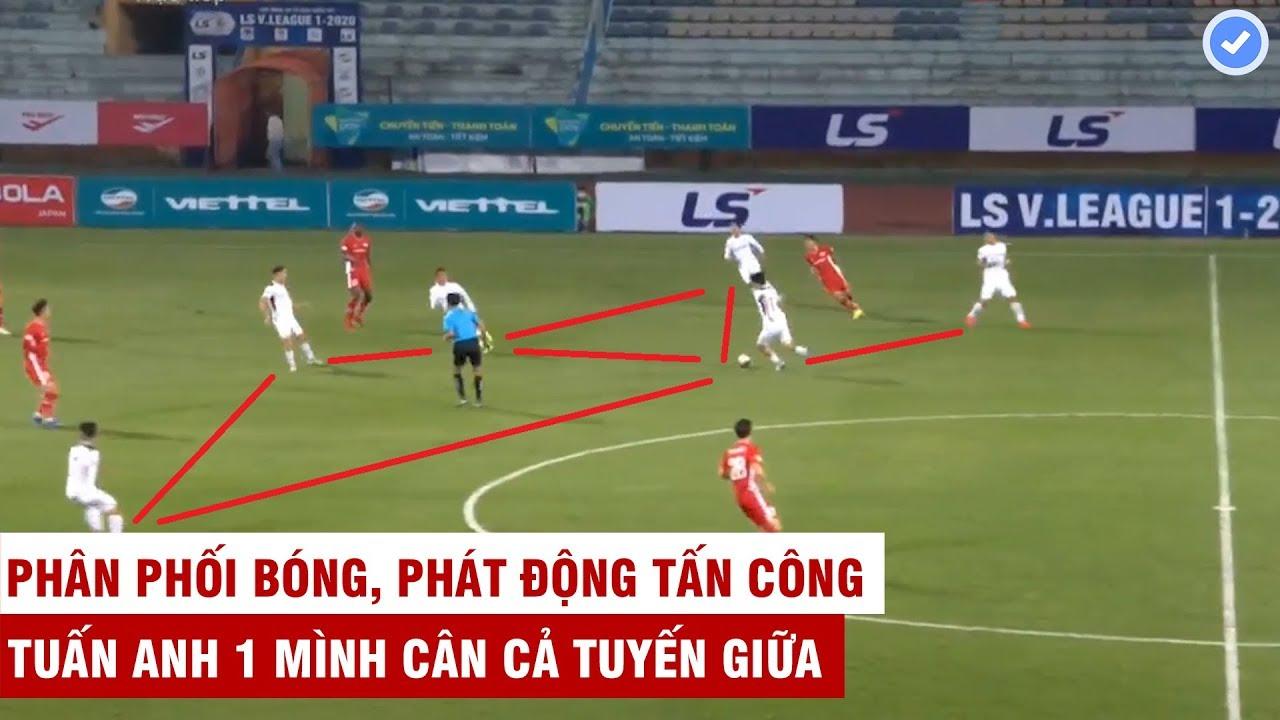 HAGL ban bật như hack, trình diễn thứ bóng đá đỉnh cao khi có Tuấn Anh | Viettel chống đỡ không nổi