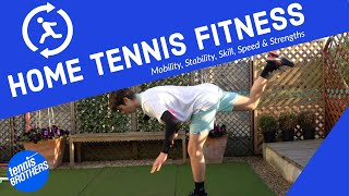 Tennis Fitness - 9 Drills to improve at home