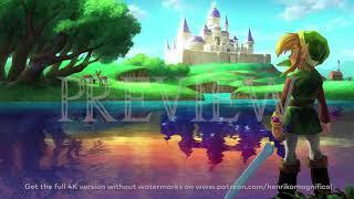 Zelda A Link Between Worlds (Wallpaper #1) - 4K 60FPS Looping Background by Henriko Magnifico
