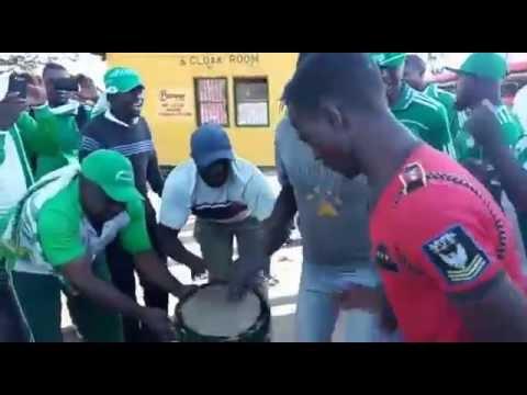 Mutare Caps United fans