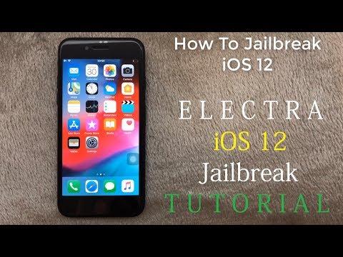 iOS 12 0 1 Jailbreak - ELECTRA iOS 12 0 1 Jailbreak TUTORIAL (2018)