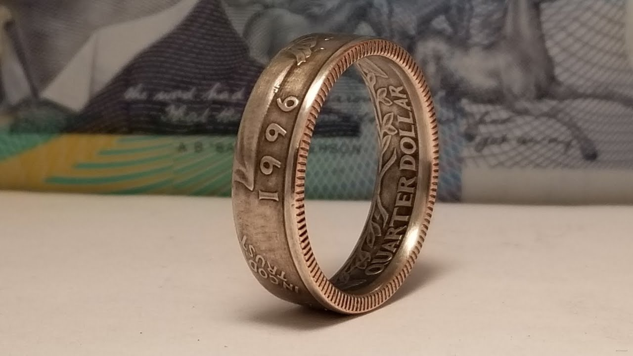 How to make a quarter coin ring with FORGED Book 2