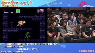 Summer Games Done Quick 2014 - Part 166 - Super Metroid Glitched Any%