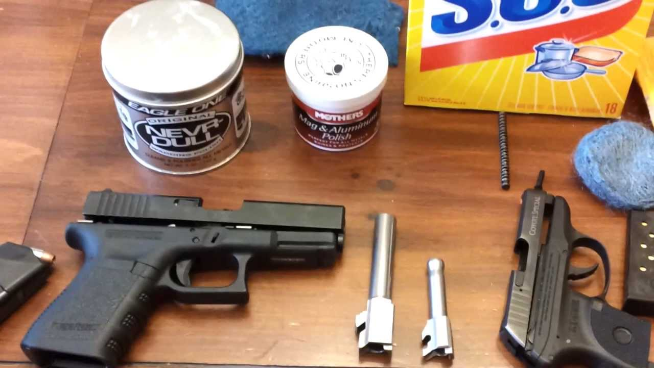 How To Polish Your Gun Barrel Chrome With No Sandpaper