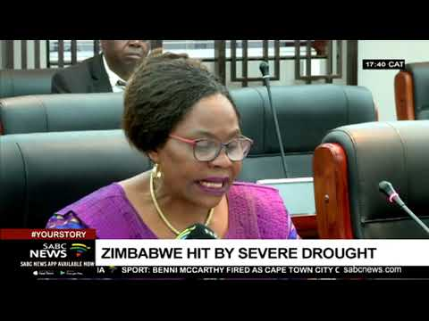 Zimbabwe facing a severe drought