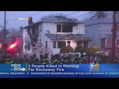 2 Dead In Early Morning Far Rockaway Fire