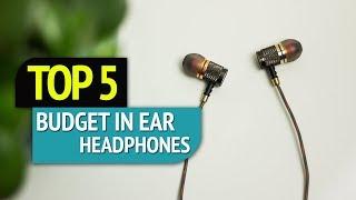 Video TOP 5: Budget In-Ear Headphones 2018 download MP3, 3GP, MP4, WEBM, AVI, FLV Juli 2018