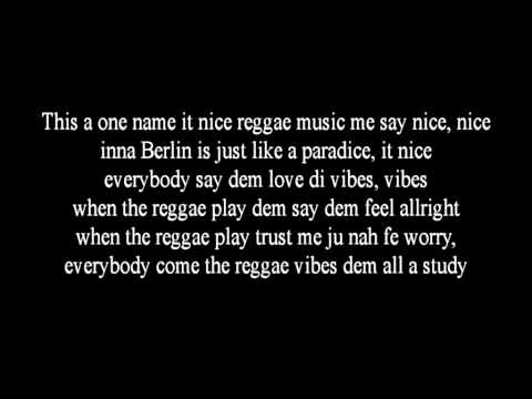 Seeed - Dickes B ( Lyrics)
