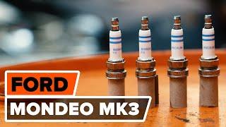Jak wymienić Świece iskra FORD MONDEO III Saloon (B4Y) - darmowe wideo online