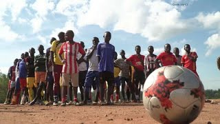 Italians Train Ugandan Youth To Promote Sports And Peace