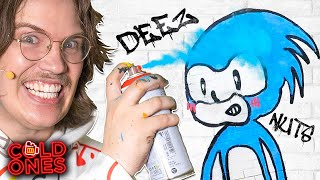 Drunk Australians Attempt Graffiti (ft. Lushsux)
