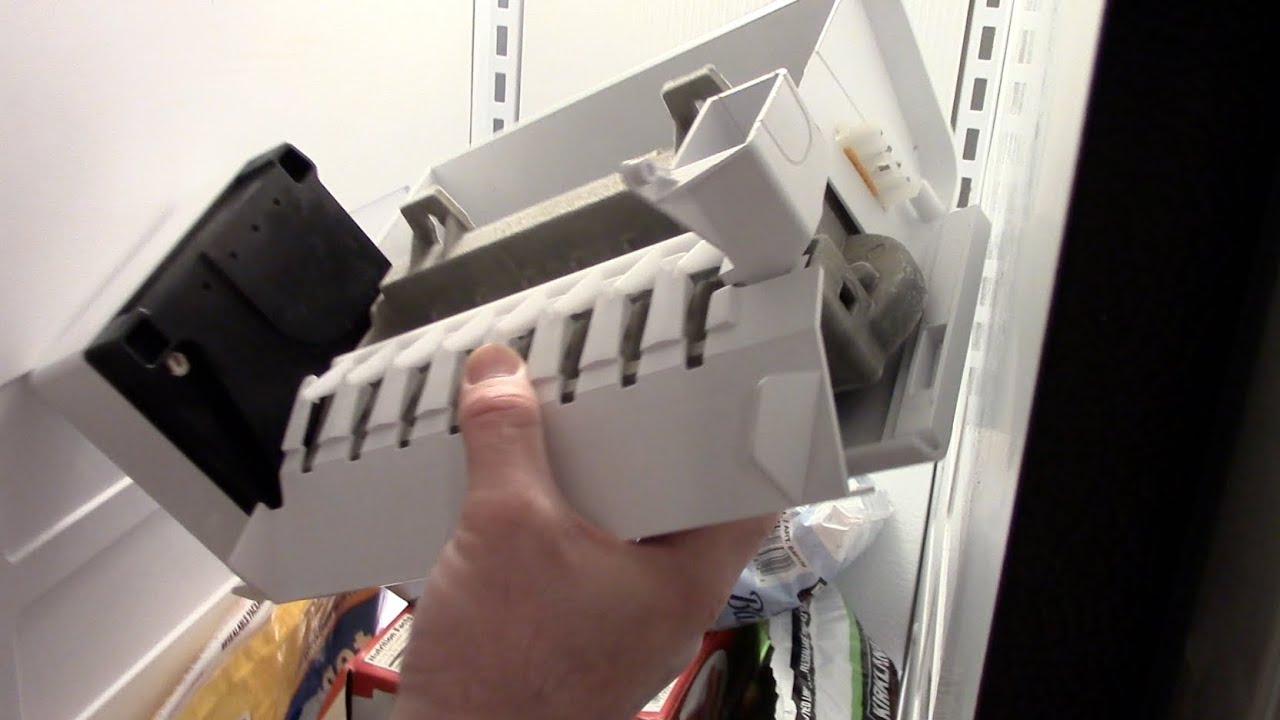 medium resolution of ice maker repair how to remove whirlpool kitchenaid kenmore
