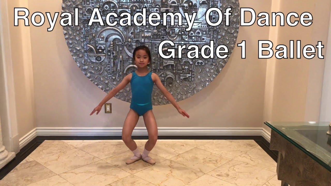 RAD Grade 1 Ballet Exam Preparation