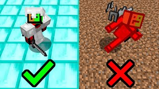 Minecraft UHC but if you stand on the WRONG block, you are instantly ELIMINATED.