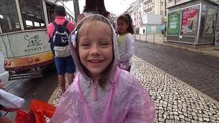 Лиссабон Часть 2 Ева Катается на трамвае, Гуляет по городу, Ходим по магазинам - Eva Vlog