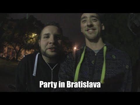 Party in Bratislava - Videoblog