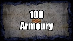 Layout and Loot from 100 Armoury Maps