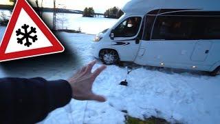 UNSER WOHNMOBIL STECKT FEST! | Roadtrip Schweden/ Norwegen