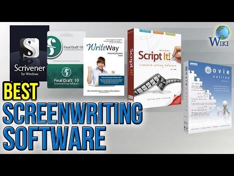 7 Best Screenwriting Software 2017
