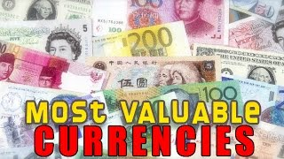 10 Most Valuable Currencies In The World