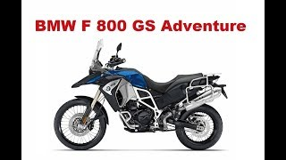 Bmw F 800 Gs Adventure Test And Review Youtube